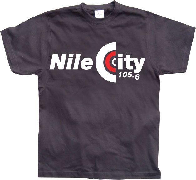 Pánské triko s humorným potiskem Nile City