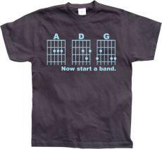 Pánské tričko Now Start A Band!