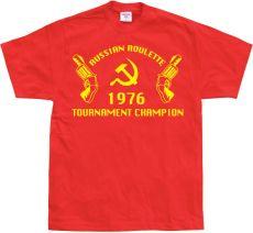 Pánské tričko Russian Roulette