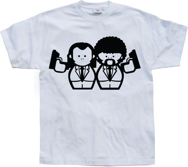 Pánské triko s humorným potiskem Vincent & Jules