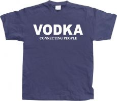 Pánské tričko Vodka - Connecting People!
