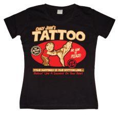 Dámské tričko Crazy Johns Tattoo