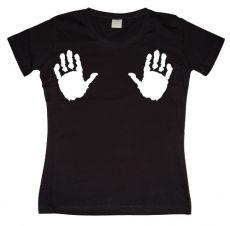 Dámské tričko Hands