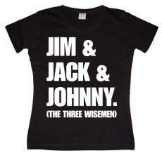 Dámské tričko Jim & Jack & Johnny