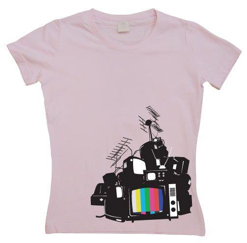 Stylové dámské triko s humorným potiskem Please Stand By