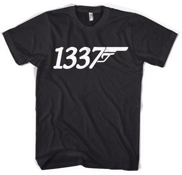 Stylové pánské triko s humorným potiskem 1337