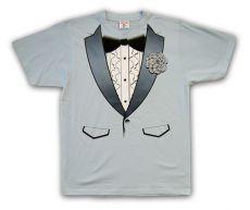 Pánské tričko 70´s Tuxedo