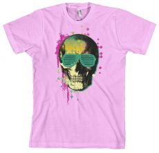 Pánské tričko 80´s Skull In Shades