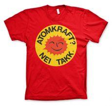 Pánské tričko Atomkraft - Nei Takk