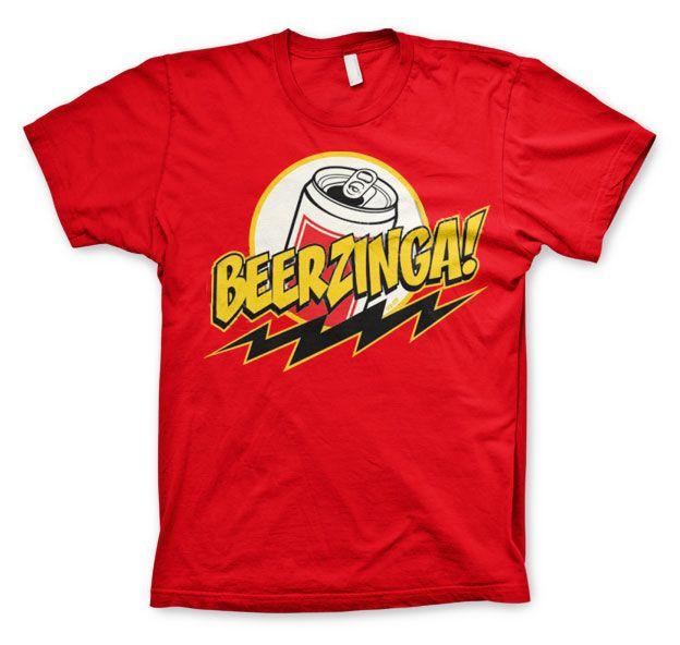 Stylové pánské triko s humorným potiskem Beerzinga!