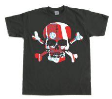 Pánské tričko Colorful Skull