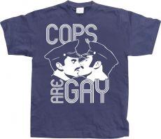 Pánské tričko Cops Are Gay
