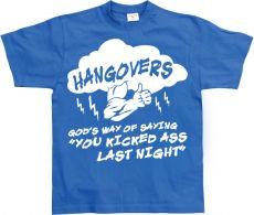 Pánské tričko Hangovers - God´s Way