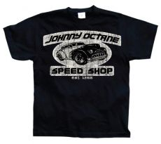 Pánské tričko Johnny Octane Speed Shop