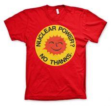 Pánské tričko Nuclear Power - No Thanks