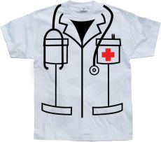 Pánské tričko Nurse Cover Up