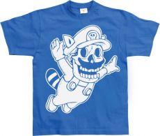 Pánské tričko Super Mario Skull