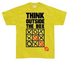 Pánské tričko Think Outside The Box