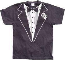 Pánské tričko Tuxedo