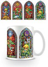 Legend of Zelda Hrnek Stained Glass