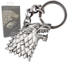 Game of Thrones Metal Keychain Stark Sigil Noble Collection