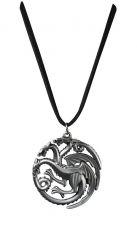 Game of Thrones Přívěsek Targaryen Sigil Kostým Noble Collection