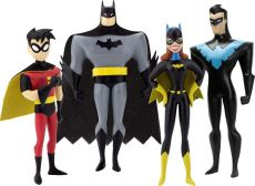 The New Batman Adventures Ohebná Figurky 4-Pack Masked Heroes 14 cm NJ Croce