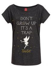 Disney Dámské Tričko Don't Grow Up Velikost L Nastrovje Potsdam
