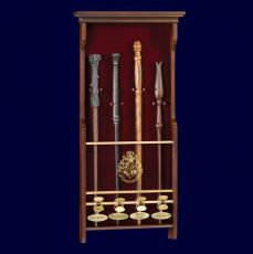 Harry Potter Four Character Wand Display Noble Collection