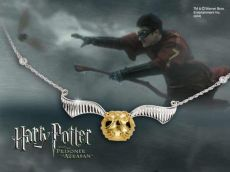 Harry Potter Náhrdelník The Quidditch Golden Snitch Noble Collection