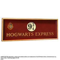 Harry Potter Nástěnná Plaque Bradavice Express 56 x 20 cm Noble Collection