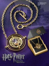 Harry Potter - Time-Turner Sterling Silver gold plated Noble Collection