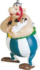 Asterix Figure Obelix with Dogmatix 8 cm Plastoy
