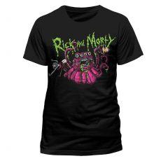 Rick and Morty Tričko Monster Slime Velikost L