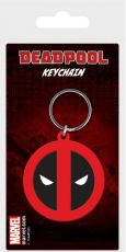 Marvel Comics Gumový Keychain Deadpool Symbol 6 cm Pyramid International