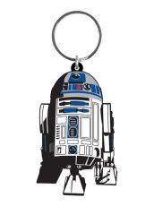 Star Wars Gumový Keychain R2-D2 6 cm Pyramid International