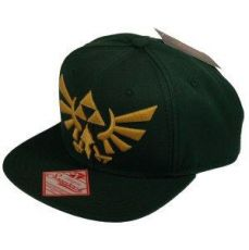 The Legend of Zelda Snap Back Baseballová Kšiltovka Embroided Gold Logo Difuzed