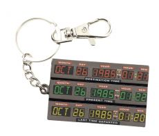 Back to the Future Metal Keychain Time Control 7 cm SD Toys
