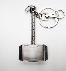 Marvel Comics Metal Keychain Thor Hammer Semic
