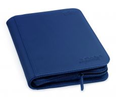 Ultimate Guard Zipfolio 160 - 8-Pocket XenoSkin Blue