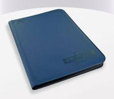 Ultimate Guard Zipfolio 360 - 18-Pocket XenoSkin Blue