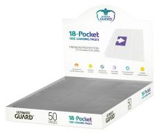 Ultimate Guard 18-Pocket Pages Side-Loading Grey (50)