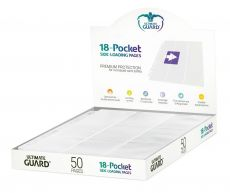 Ultimate Guard 18-Pocket Pages Side-Loading White (50)