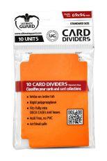 Ultimate Guard Card Dividers Standard Velikost Orange (10)