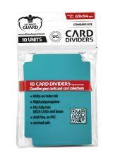 Ultimate Guard Card Dividers Standard Velikost Petrol Blue (10)