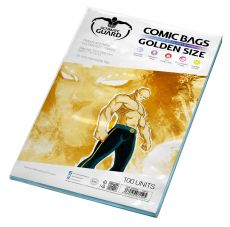 Ultimate Guard Comic Bags Resealable Golden Velikost (100)