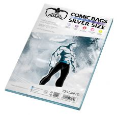 Ultimate Guard Comic Bags Resealable Silver Velikost (100)