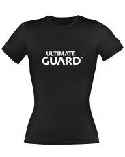 Ultimate Guard Dámské Tričko Wordmark Black Velikost L