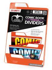 Ultimate Guard Premium Comic Book Dividers Orange (25)
