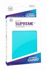 Ultimate Guard Supreme UX Sleeves Standard Velikost Matte Aquamarine (80)